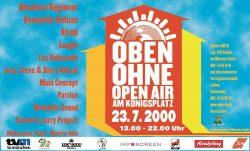 Poster OBEN OHNE 2000