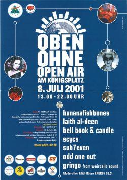 Poster OBEN OHNE 2001