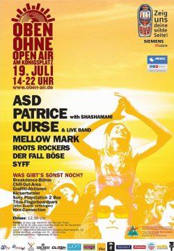 Poster OBEN OHNE 2003