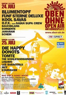 Poster OBEN OHNE 2004