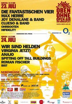 Poster OBEN OHNE 2005
