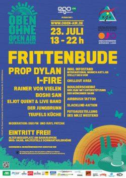 Plakat OBEN OHNE 2011