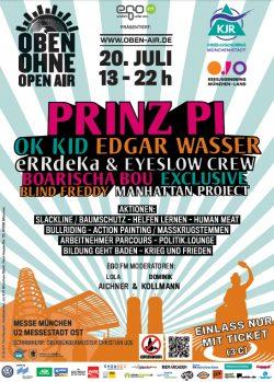 Plakat OBEN OHNE 2013