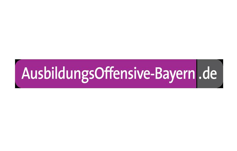 Logo Ausbildungsoffensive Bayern