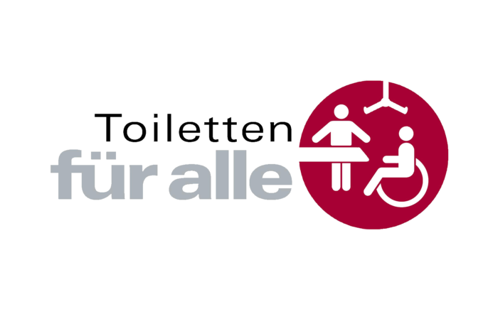 Logo Toilette für alle
