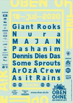 Plakat OBEN OHNE 2020
